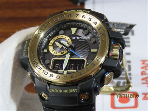 G Shock Gwn1000 Black Gold live photos g shock gulfmaster gwn 1000gb 1a black and gold
