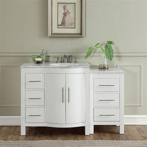 Modern Single Bathroom Vanity by 54 Quot Modern Single Bathroom Vanity Espresso With Sink