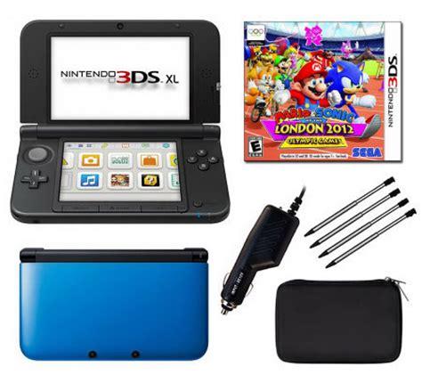 Nintendo 3ds Xl Bundle 1716 by Nintendo 3ds Xl Bundle With Mario Soniclondon2012 Qvc