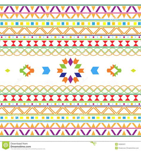 free mexican pattern background aztec pattern stock image image 34992021