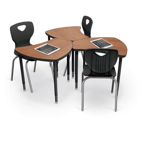 desks for students shapes desk configurable desking mooreco inc