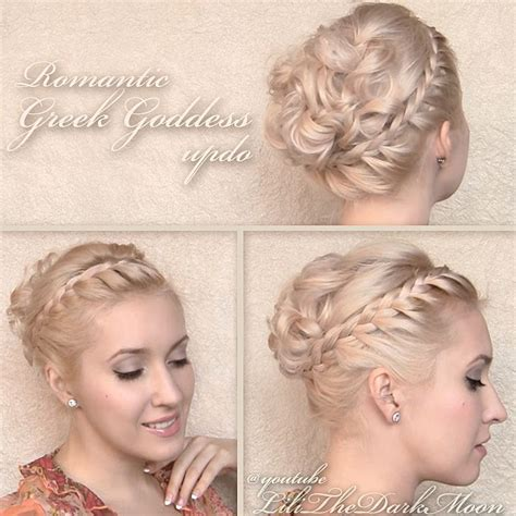 romantic curly cascading hairstyles updos for medium 922 best images about style vintage on pinterest