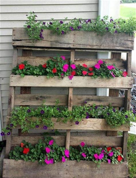 How To Make Planters From Pallets by 25 Inspiring Diy Pallet Planter Ideas