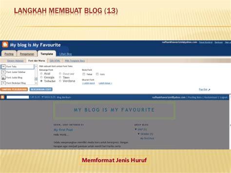 Langkah2 Membuat Website Sendiri   langkah2 membuat blog