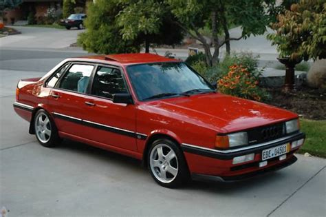 where to buy car manuals 1987 audi 4000cs quattro engine control for 4 750 this 1987 audi 4000cs quattro is red and ready