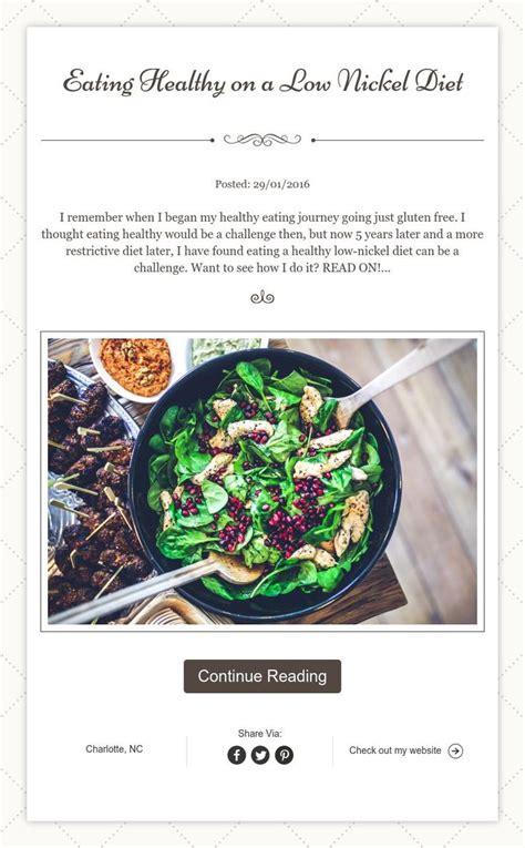 Nickel Detox Recipe by 51 Best Low Nickel Diet Recipes Images On