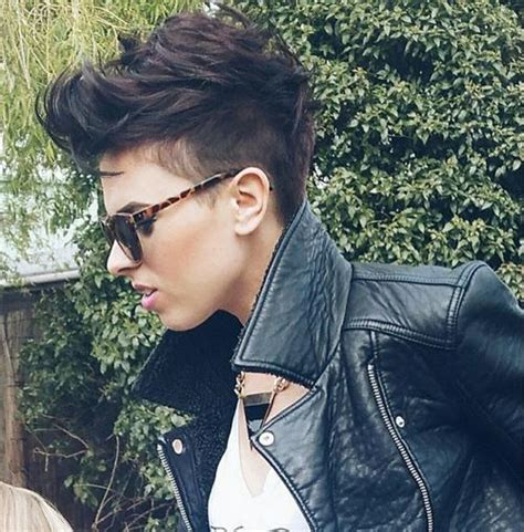 styling a side shave pixie cut pixie haircuts for thick hair 40 ideas of ideal short