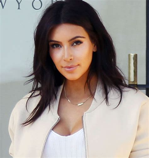 how to do hairstyles like kim kardashian kim kardashian got a chic new haircut sexy shorts and chic