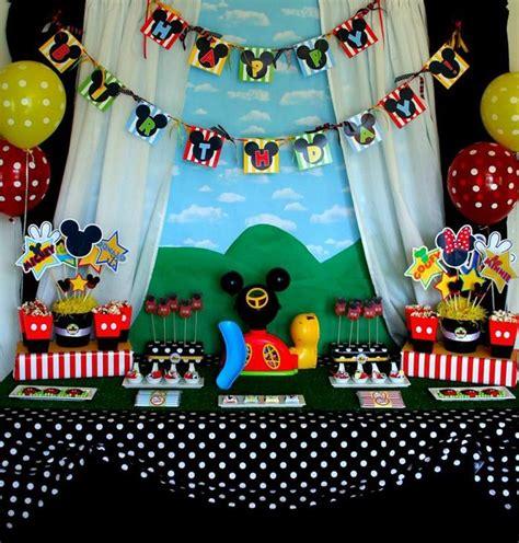 Mickey Mouse Birthday Decoration Ideas by Kara S Ideas Mickey Mouse Clubhouse Birthday