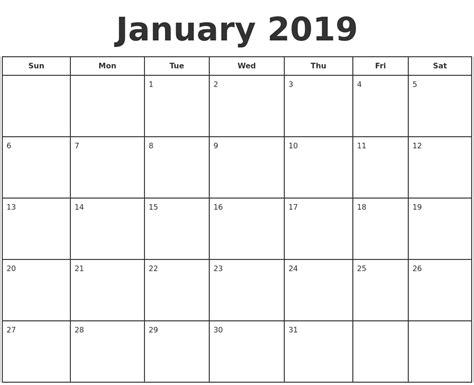 printable calendar january 2019 september 2018 calendar printable