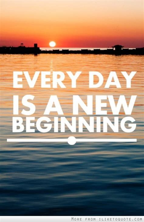 start every day with new hope every day is a new beginning inspiration motivation