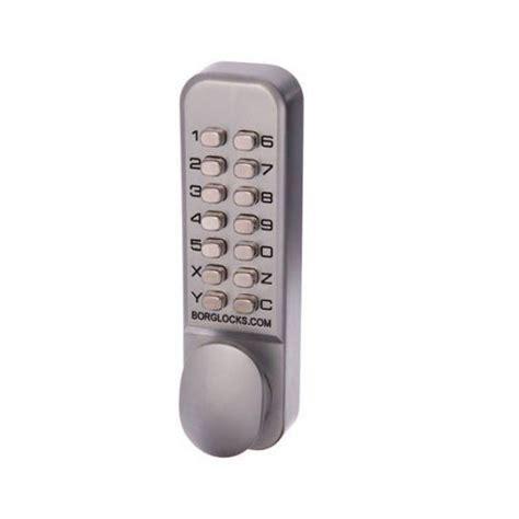 Keypad Entry Door Lock by Borg Digital Door Lock Bl2000kscnew Knob Keypad Only Keyless Entry Satin Chrome Ebay