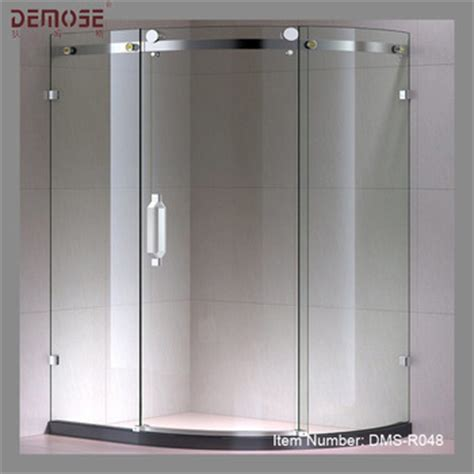 Curved Glass Shower Door Curved Sliding Glass Frameless Shower Door Buy Frameless Bifold Shower Door Frameless Folding