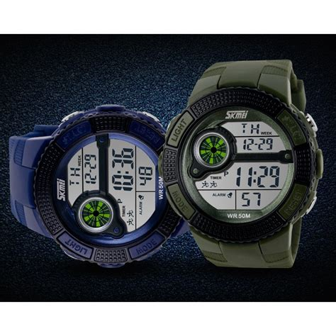 Jam Tangan Vinergy Water Resistant skmei jam tangan sport digital pria dg1027 black jakartanotebook
