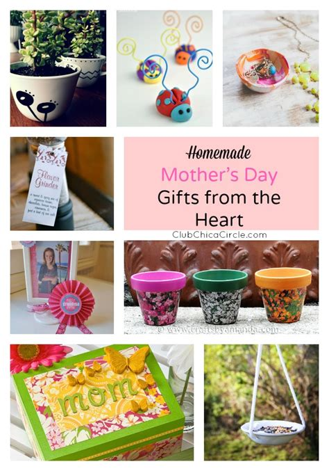 Handmade Mothers Day Gift Ideas - 15 s day gift ideas from the
