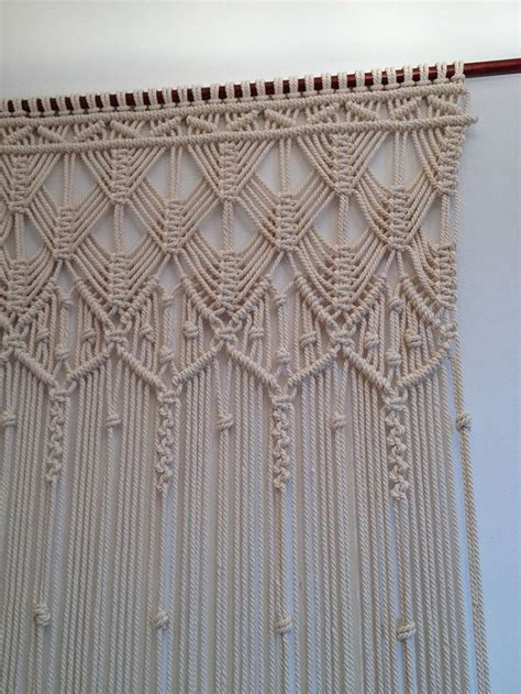 Hemp Curtain Panels From Doc by 1000 Ideas About Macrame On Macrame Necklace