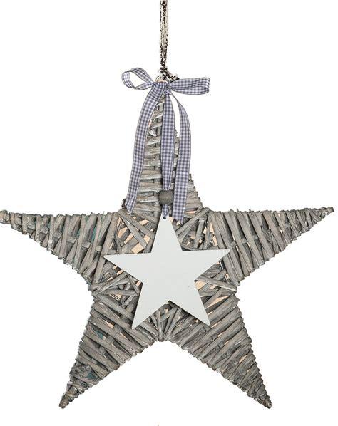 kerzenhalter hängend weihnachtsbaum rattan grau mit deko 40 x 40 cm g 252 nstig bei dekodor
