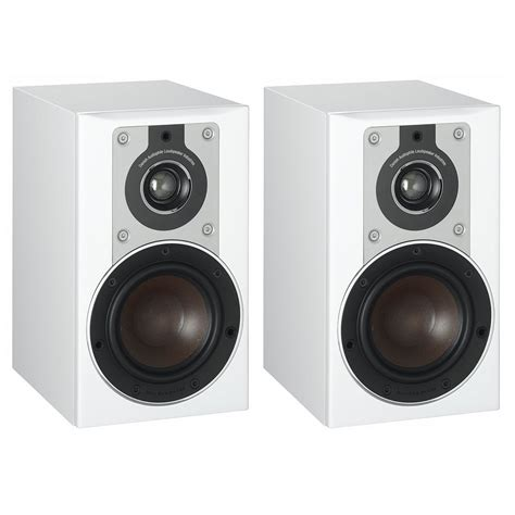 dali opticon 1 white bookshelf speakers pair dali