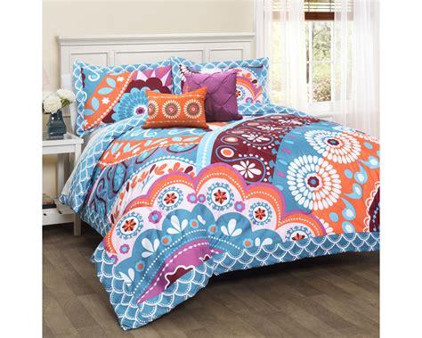 Pink Bedding by 5 Bedding Comforter Set Turquoise Pink Ebay