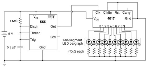 integrated light circuit led sequencer