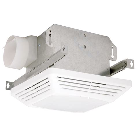 ceiling fan cfm watt nutone heat a vent 70 cfm ceiling exhaust fan with 1300