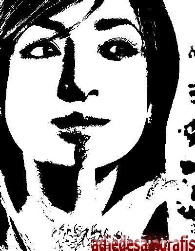 merubah foto menjadi hitam putih artistik  photoshop