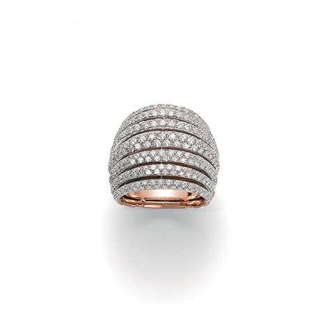 pave diamanti anello fope con diamanti an665 pave an665 pave 13 800