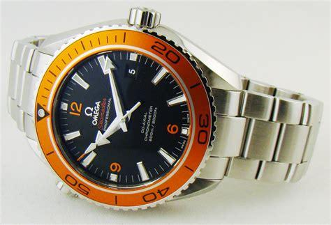 Omega Seamaster Planet Ocean Orange Bezel   Chitown Watch
