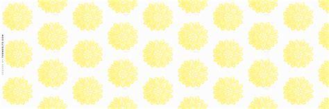 themes ltd banner yellow delicate paper flower twitter header random