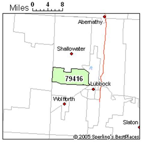 zip code map lubbock best place to live in lubbock zip 79416 texas