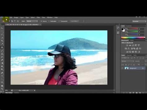 tutorial photoshop cs3 menghilangkan objek cara menghilangkan objek foto yang tidak di inginkan