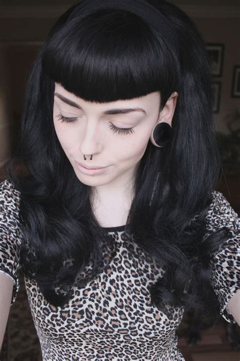 Psychobilly Girl Hairstyles   ma