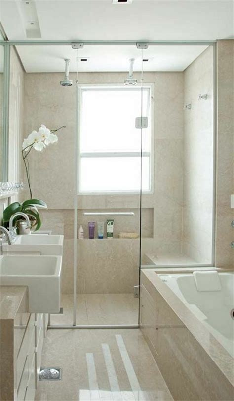 bright colored bathrooms modern designs of glass wall shower room decorating