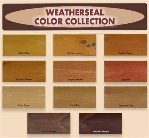 log home exterior color chart images