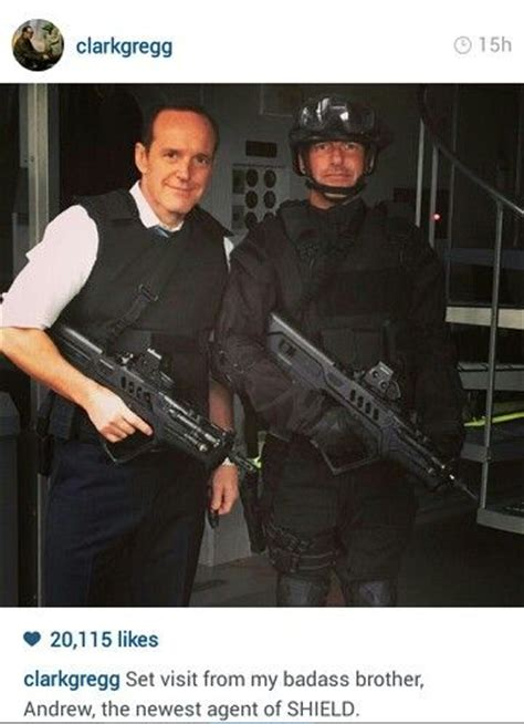 clark gregg brother andrew 110 best images about agents of shield on pinterest joss