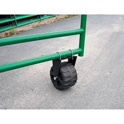 swing gate wheel for wood supportive rolling gate wheel 300 lb capacity 9 5 8in