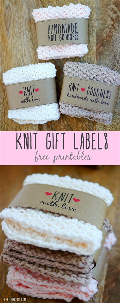 Free Printable Knit Gift Labels Sock Label Template