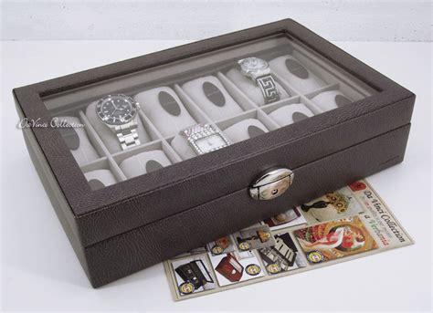 scatola porta orologi carpisa portaorologi scatola porta orologi in legno 12 posti
