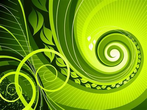 green swirl wallpaper gallery