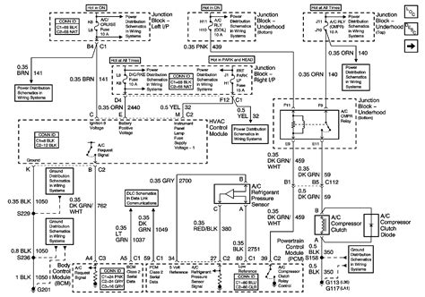 chevrolet impala wiring diagram electrical system car