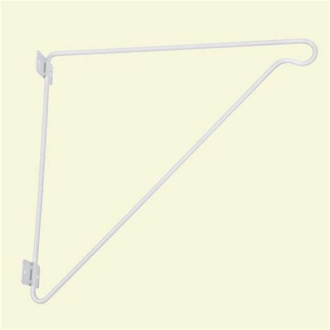 closetmaid 11 in h x 12 in d closet rod support 1038