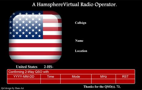 microsoft publisher qsl card template hamsphere qsl templates kd0pnp ham radio