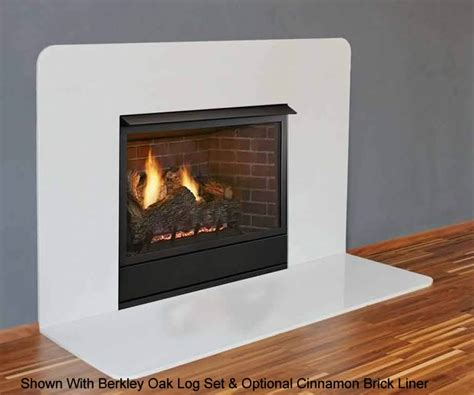 monessen 32 inch vent free fireplace system s gas