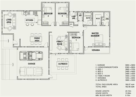 home floor plan kits 4 bedroom house plans i build com au