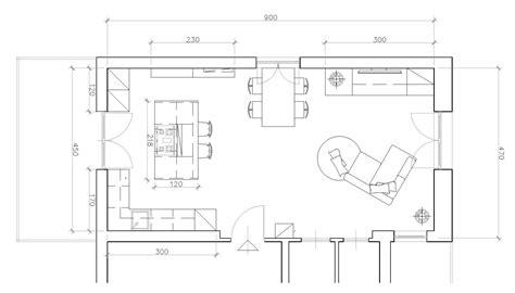 piantina cucina cucina a vista sul soggiorno un progetto per sfruttare