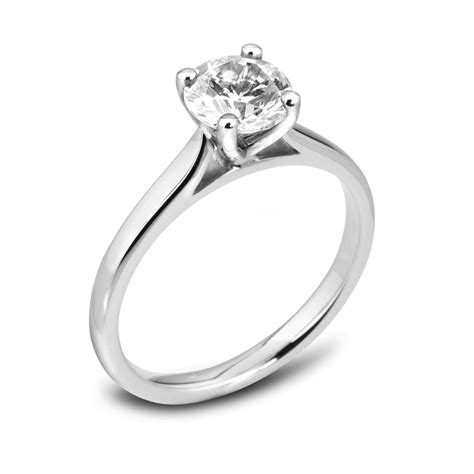 Classic Engagement Rings by Classic Solitaire Engagement Ring