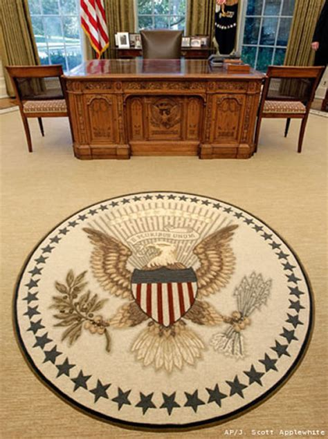 oval office rug the white house s new rug is green and eco friendly made