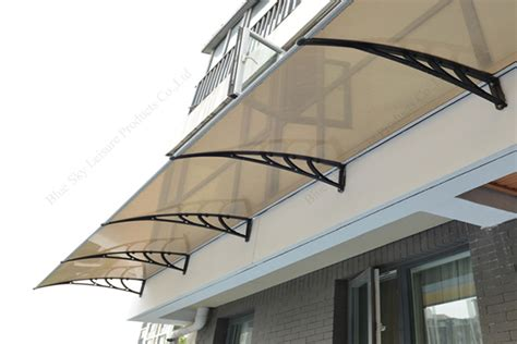 Simple Awning Design by Easy Assembly Aluminum Alloy Structure Fiberglass Material