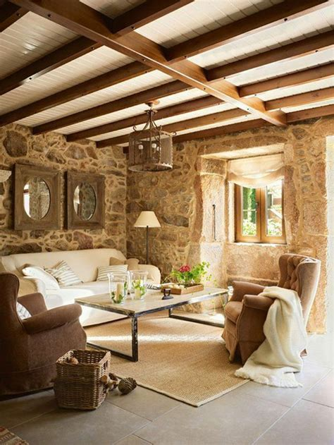 Mur Salon En by D 233 Co Salon Mur En Fausse Dans Le Salon Moderne