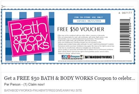 bed bath and body works coupon bath and body works mega deals and coupons
